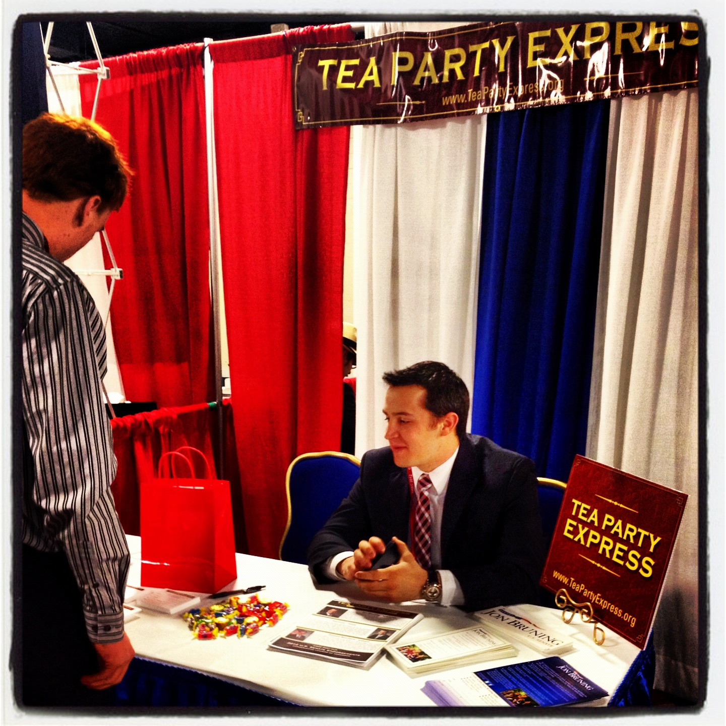 Tea Party Express at CPAC