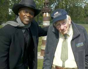 LLOYD MARCUS & Mr Roher WW II VET